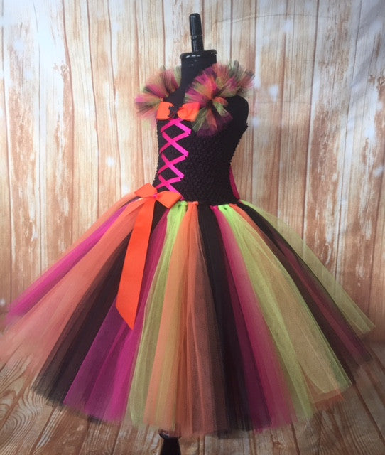 Witch Tutu, Girls Witch Dress, Witch Costume for Girls, Witch Tulle ...