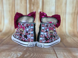 LOL Surprise Doll Diva Converse Sneakers, Little Kids Shoe Size 10-2