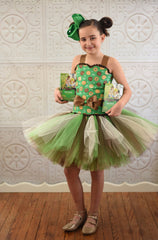 Girl Scout Tutu, Girl Scout Dress, Girl Scout Pageant Dress, GS Dress