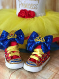 Beauty & The Beast Belle Converse Sneakers, Infants and Toddler Shoe Size 2-9