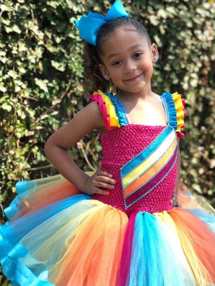 JoJo Siwa Tutu Dress, JoJo  Dress, JoJo Halloween Costume