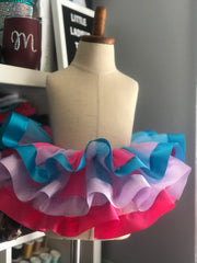 Abby Caddaby Tutu Skirt, Sesame Street Birthday, Abby Caddaby Party