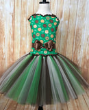 Girl Scout Tutu, Girl Scout Dress, Girl Scout Pageant Dress, GS Dress - Little Ladybug Tutus