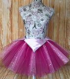 Women's Aurora Tutu Skirt, Disney Aurora Marathon Skirt - Little Ladybug Tutus