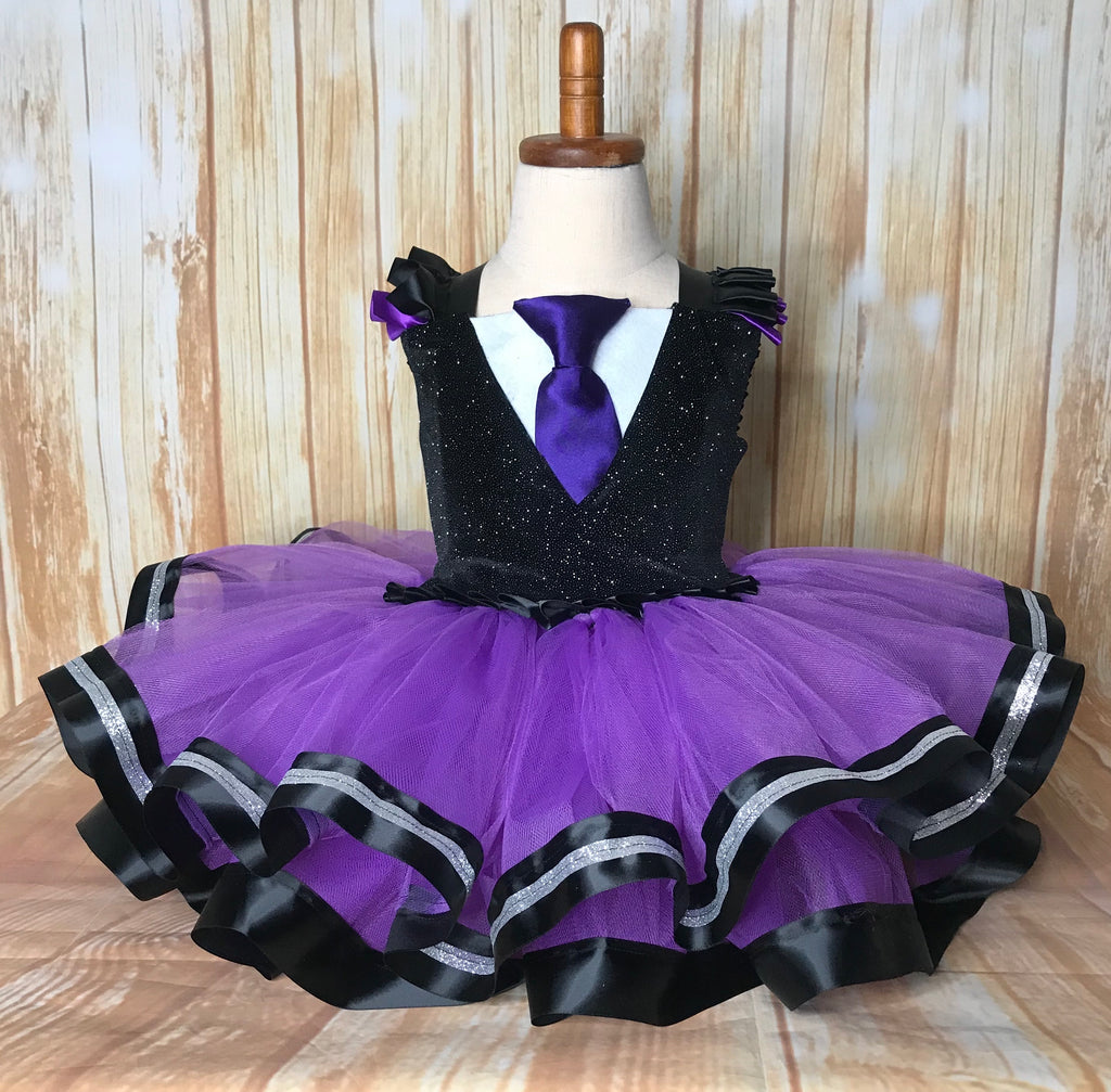 Boss Baby Tutu, Girl Boss Baby Costume, Purple Boss Baby