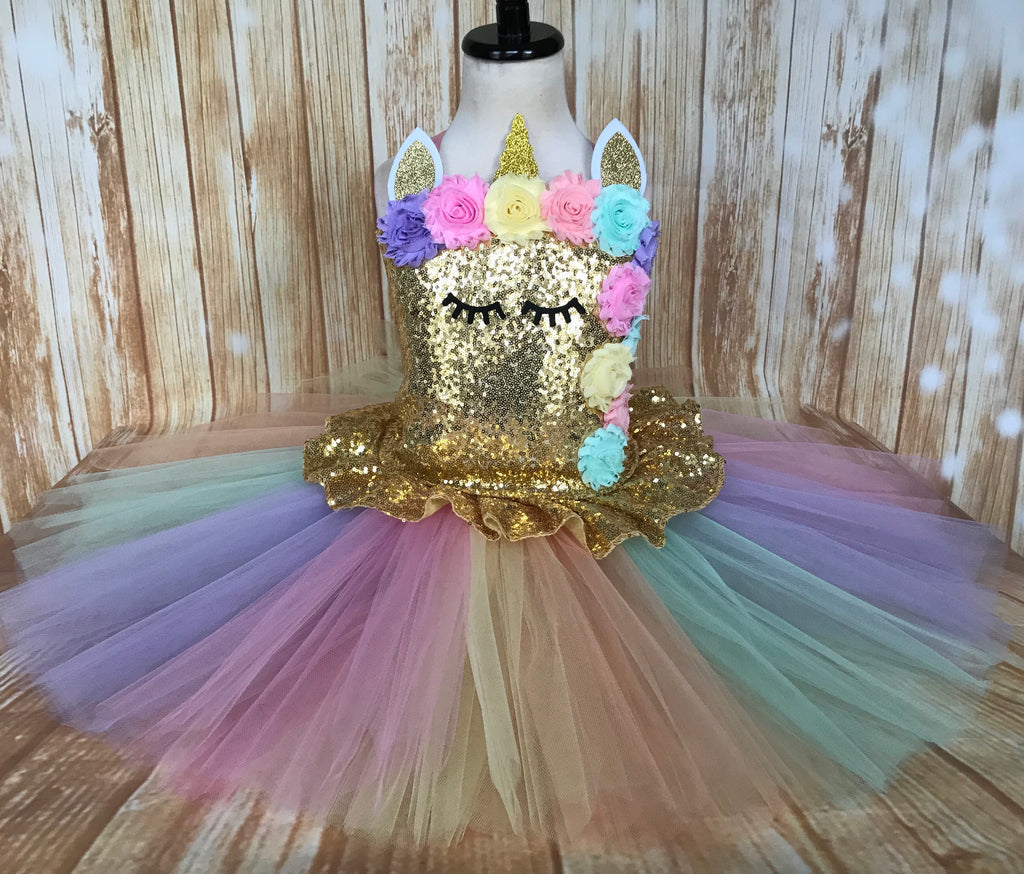 Unicorn Tutu, Unicorn Birthday, Unicorn Costume, Unicorn Photography Prop Dress