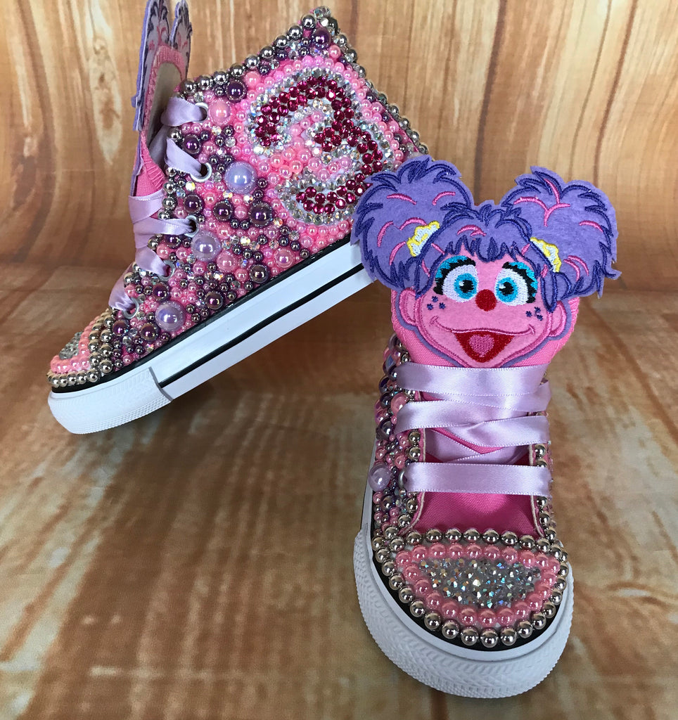 Abby Caddaby Custom Converse, Big Kids Shoe Size 3-6