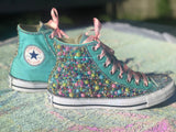 Unicorn Custom Converse Sneakers, Little Kids Size 10C-2Y - Little Ladybug Tutus