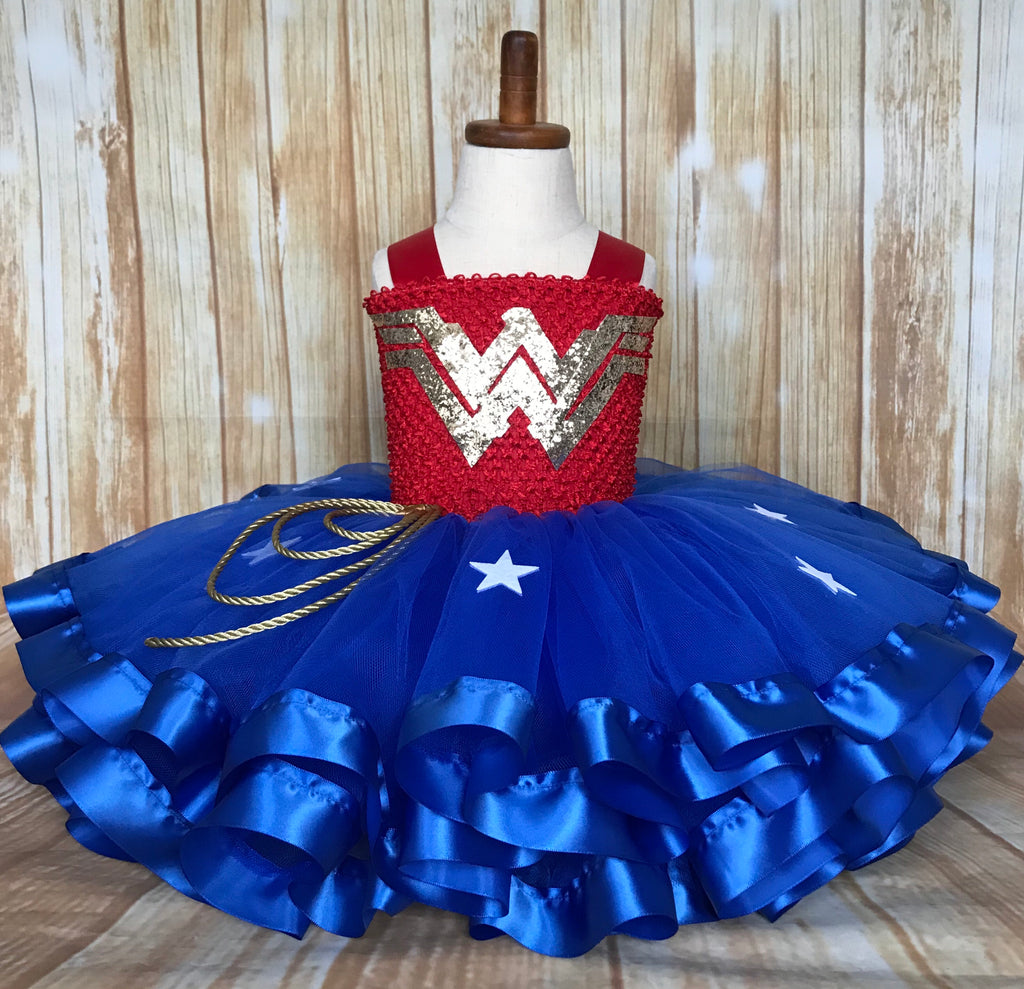 Wonder Woman Tutu, Wonder Woman Halloween Costume