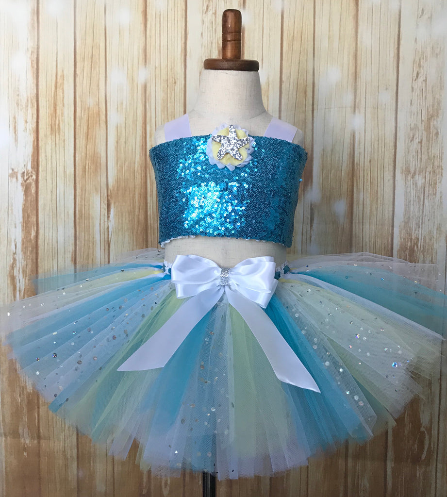 Under the Sea Tutu Set, Beach Birthday Tutu