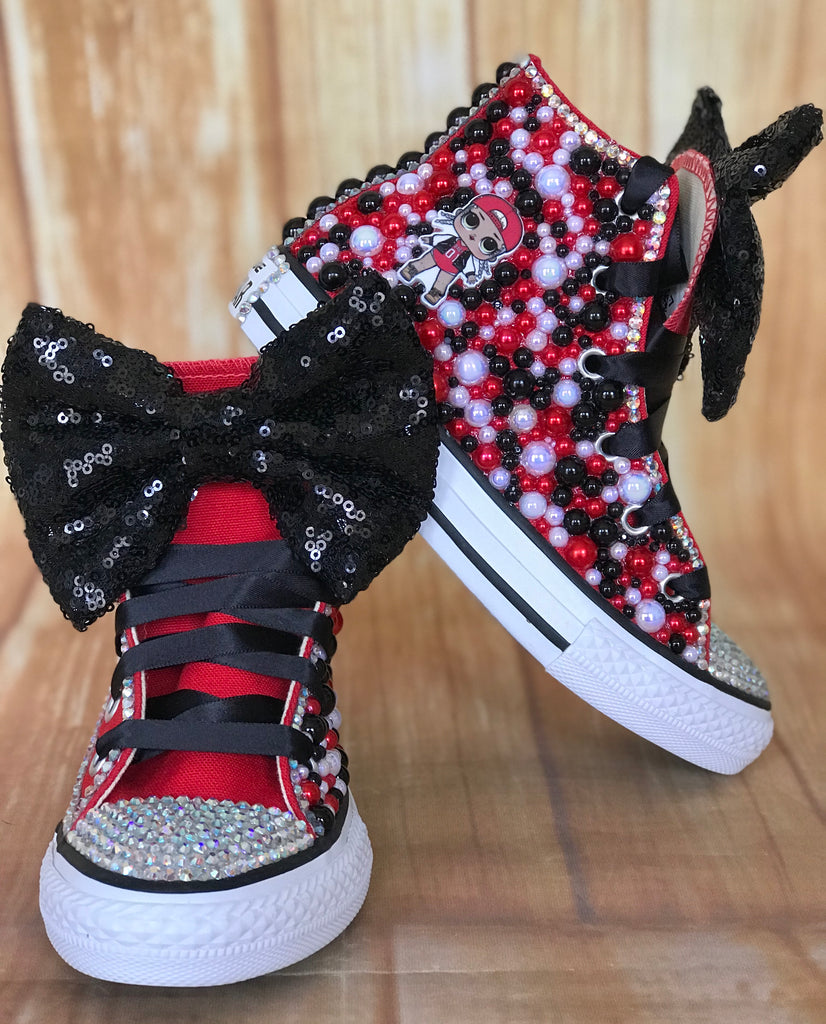 LOL Surprise Doll MC Swag Converse Sneakers, Big Kids Shoe Size 3-6