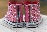Peppa the Pig Blinged Converse, Little Kids Shoe Size 10-2