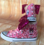 LOL Surprise Doll Fancy Converse Sneakers, Little Kids Shoe Size 10-2