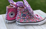 LOL Surprise Unicorn Doll Converse Sneakers, Little Kids Shoe Size 10-2