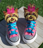 JoJo BowBow Converse Sneakers, Little Kids Shoe Size 10-2