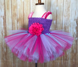 Pink and Purple Tutu Dress - Little Ladybug Tutus
