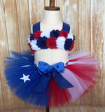 American Flag Baby Tutu Set - Little Ladybug Tutus
