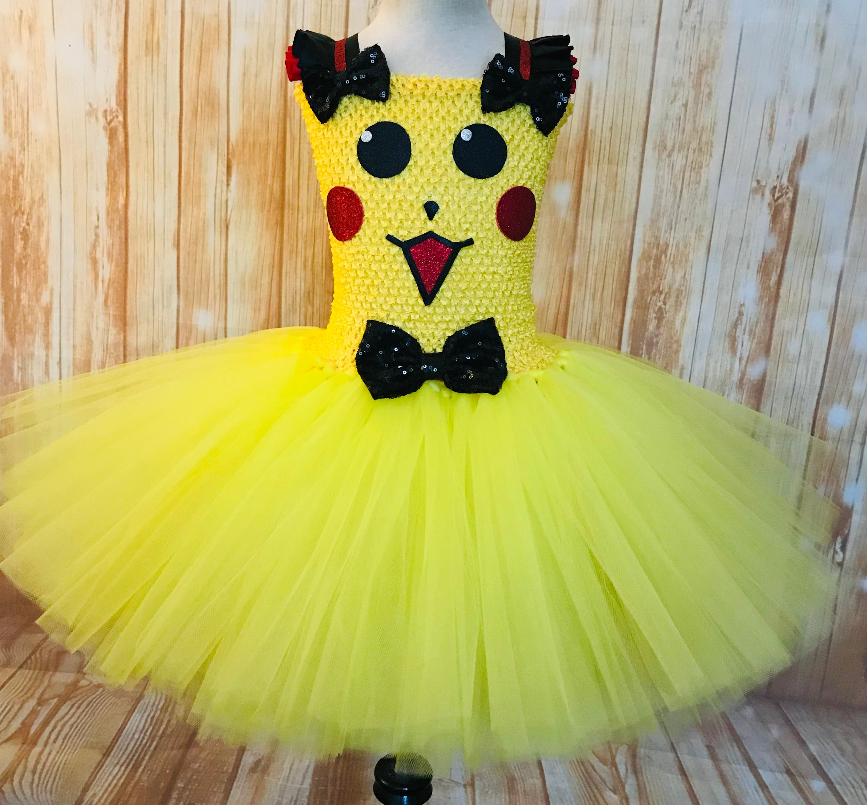 Pikachu Tutu, Pokemon Dress, Pikachu Party