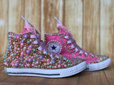 Unicorn Converse Shoes, Big Kids Shoe Size 3-6