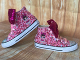 LOL Surprise Doll Fancy Converse Sneakers, Big Kids Shoe Size 3-6