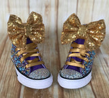 Mermaid Converse Sneakers, Little Kids Shoe Size 10-2