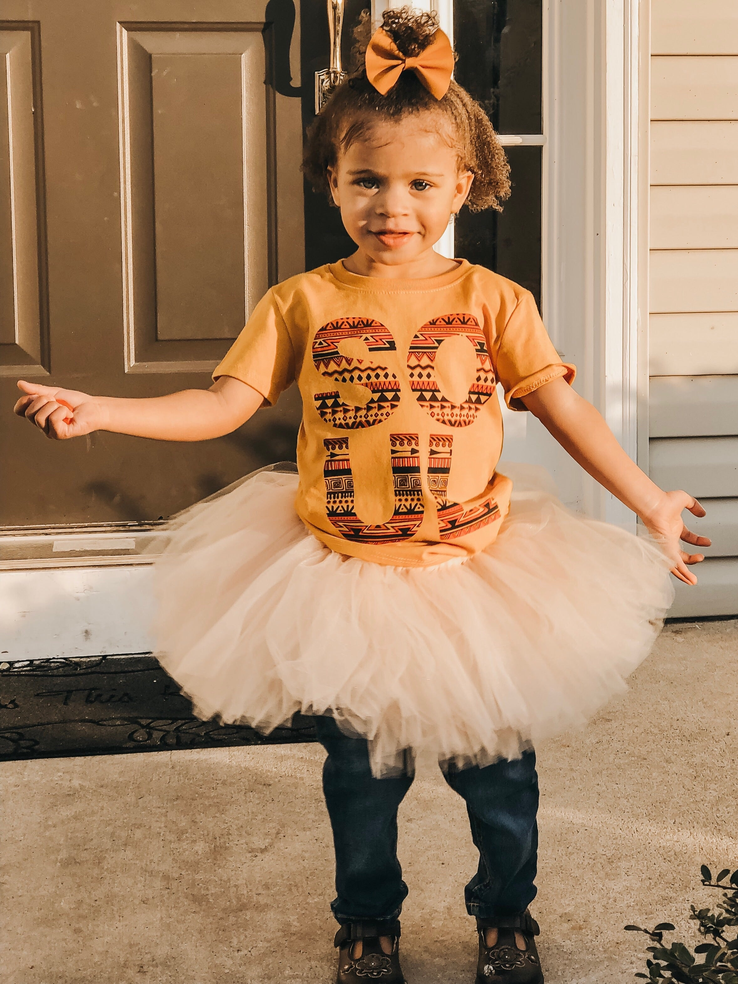 Khaki Sand Cream Color Tutu Skirt, 1st Birthday Tutu