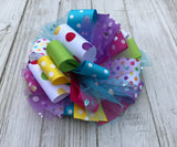 Funky Loop Bow - Little Ladybug Tutus