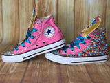 Jojo Blinged Converse Sneakers, Little Kids Shoe Size 10-2