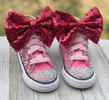 LOL Surprise Doll Angel Converse Sneakers, Little Kids Shoe Size 10-2