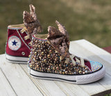 Burgundy Converse Sneakers, Little Kids Shoe Size 10-2