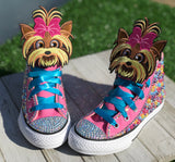 JoJo BowBow Converse Sneakers, Big Kids Shoe Size 3-6