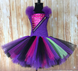 Mal Tutu, Mal Tutu Dress, Descendants Tutu, Descendants Costume - Little Ladybug Tutus
