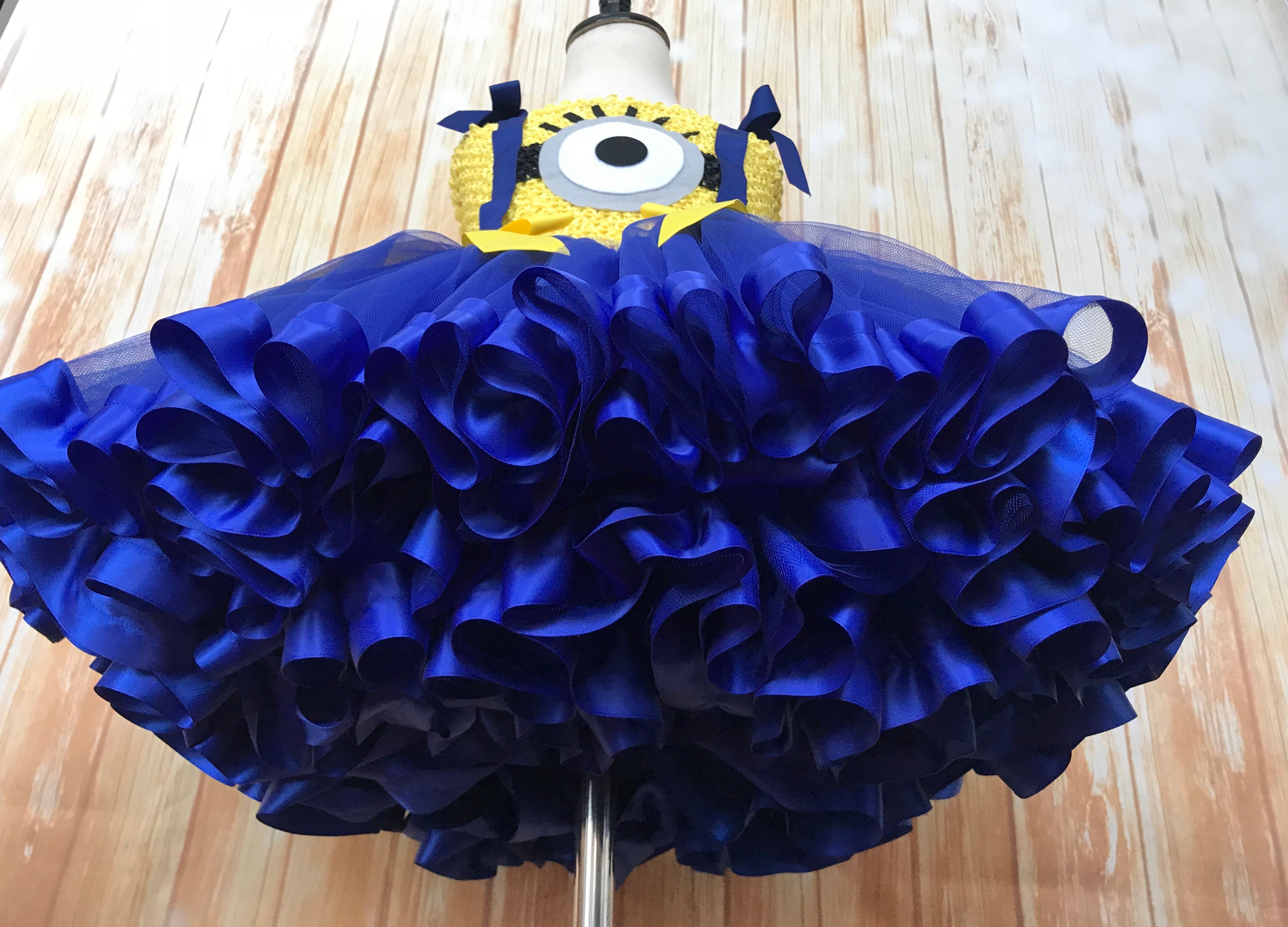 Add Satin Ribbon Trim to your Tutu Dress - Little Ladybug Tutus