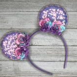 Lavender Flower Ears