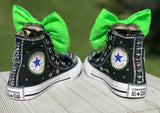 LOL Surprise Doll Bhaddie Blinged Converse Sneakers, Big Kids Shoe Size 3-6