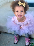 Pink Tutu Skirt, 1st Birthday Tutu