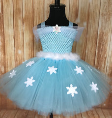 Elsa Tutu, Frozen Tutu, Frozen Elsa Tutu Dress, Girls Frozen Tutu - Little Ladybug Tutus