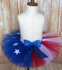 Patriotic Tutu, USA Flag Tutu - Little Ladybug Tutus