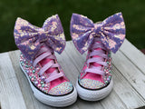 Custom LOL Surprise Doll Converse Sneakers, Little Kids Shoe Size 10-2