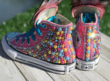 JoJo BowBow Converse Sneakers, Infants and Toddler Shoe Size 6-9