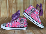 LOL Surprise Doll Center Stage Converse Sneakers, Big Kid Shoe Size 3-6
