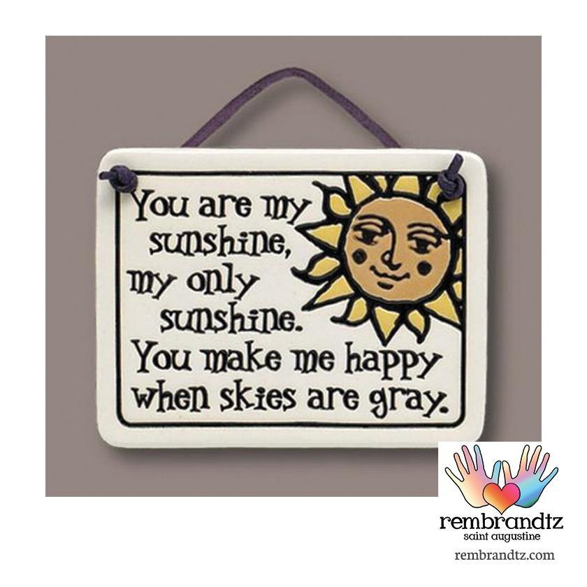 My Sunshine Art Tile - Rembrandtz