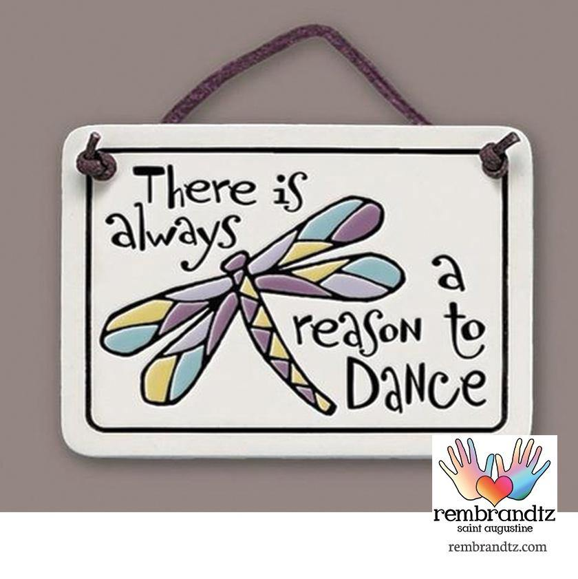 Reason To Dance Art Tile - Rembrandtz