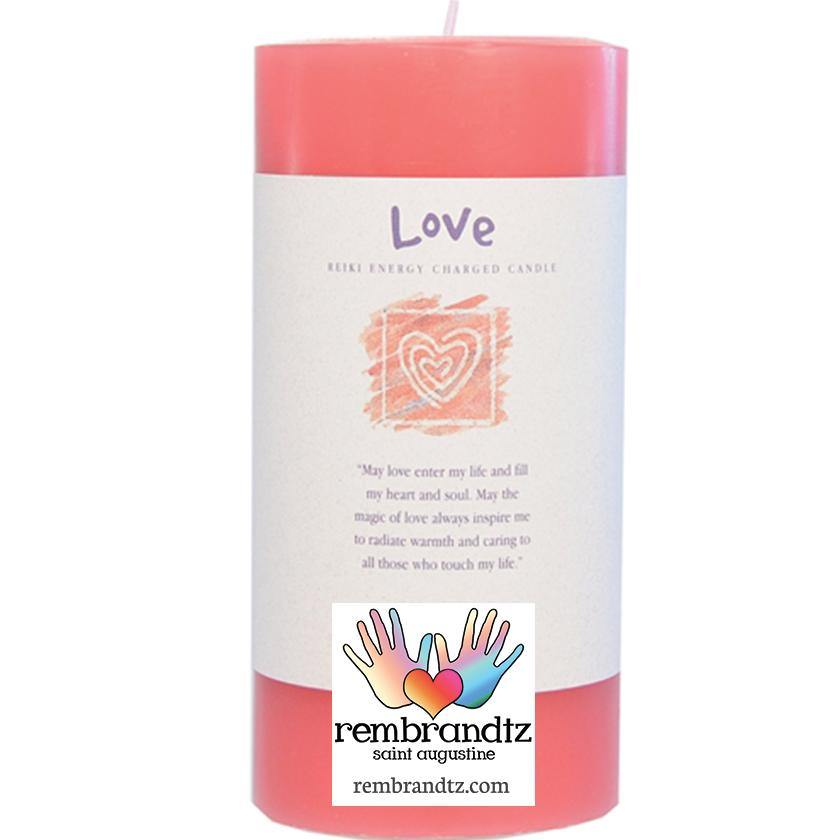 Love Candle Large