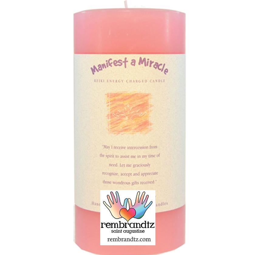 Manifest Miracle Candle Large