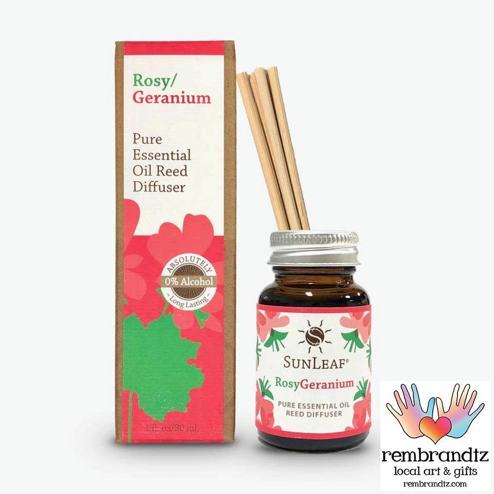 Rosy Geranium Reed Diffuser Small