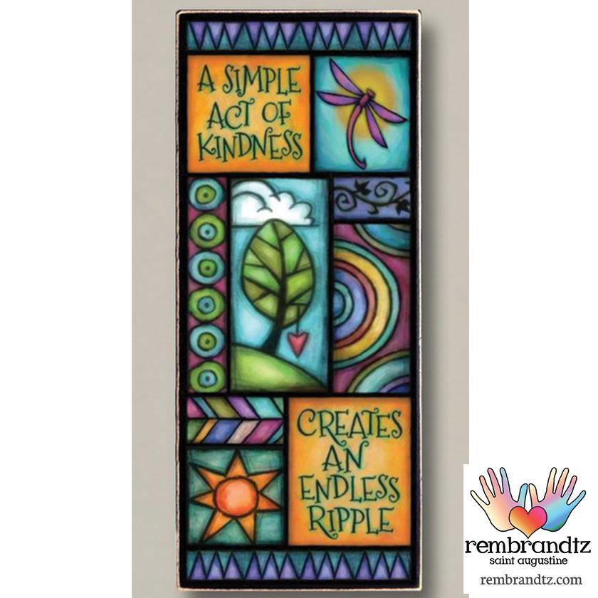 Simple Act of Kindness Archival Art - Rembrandtz