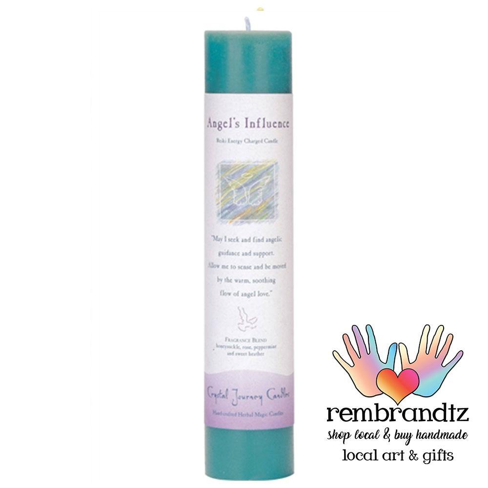 Reiki Angels Influence Candle Medium - Rembrandtz