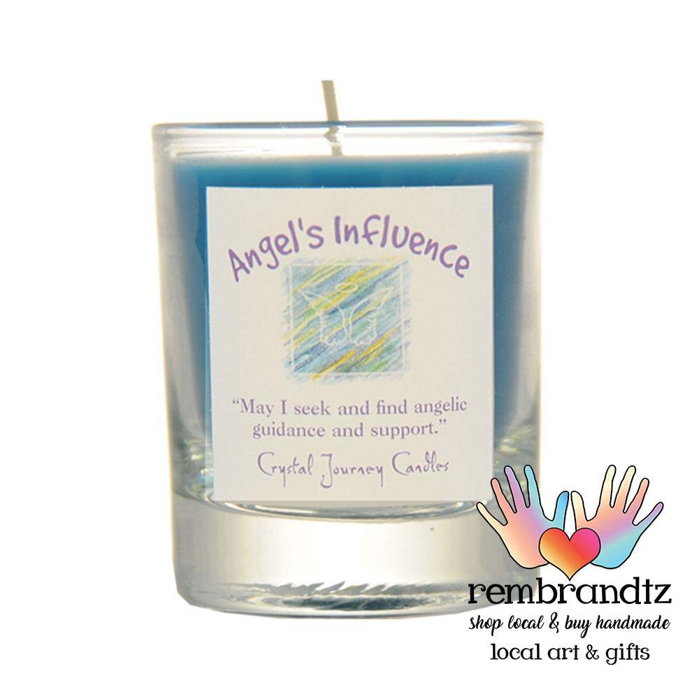 Angels Influence Reiki Soy Candle Small - Rembrandtz