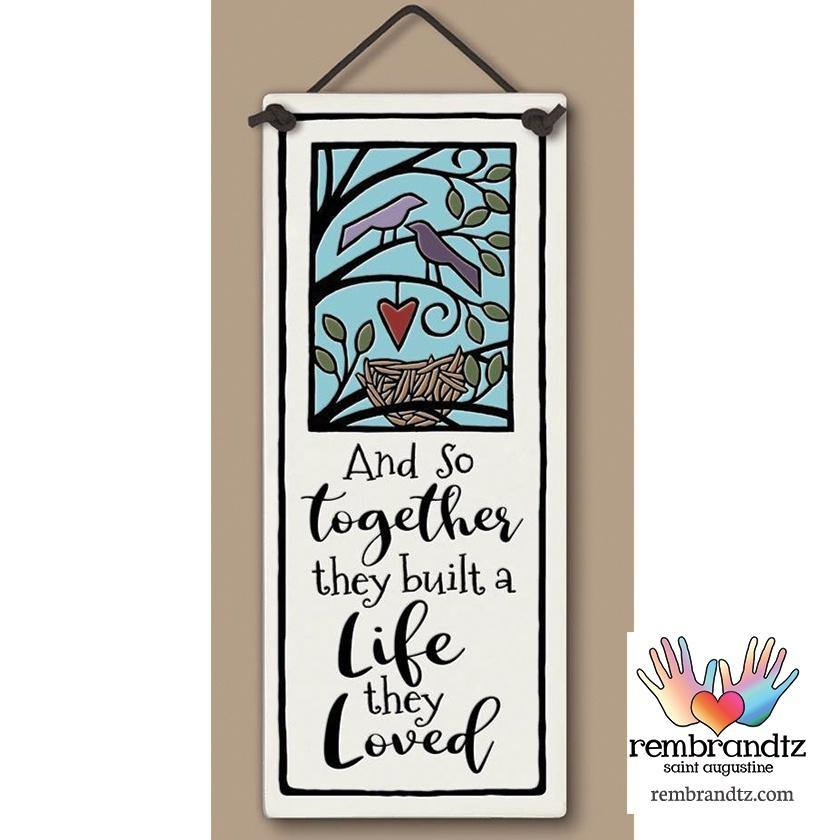 Together Built Art Tile
